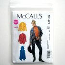 Misses Unlined Jackets Vest Easy Knits L XL XXL McCalls 2011 Sewing Pattern MP491