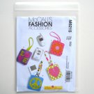 McCalls Fashion Accessories 2010 Cell Phone MP3 Player Cases Sewing Pattern M 6215