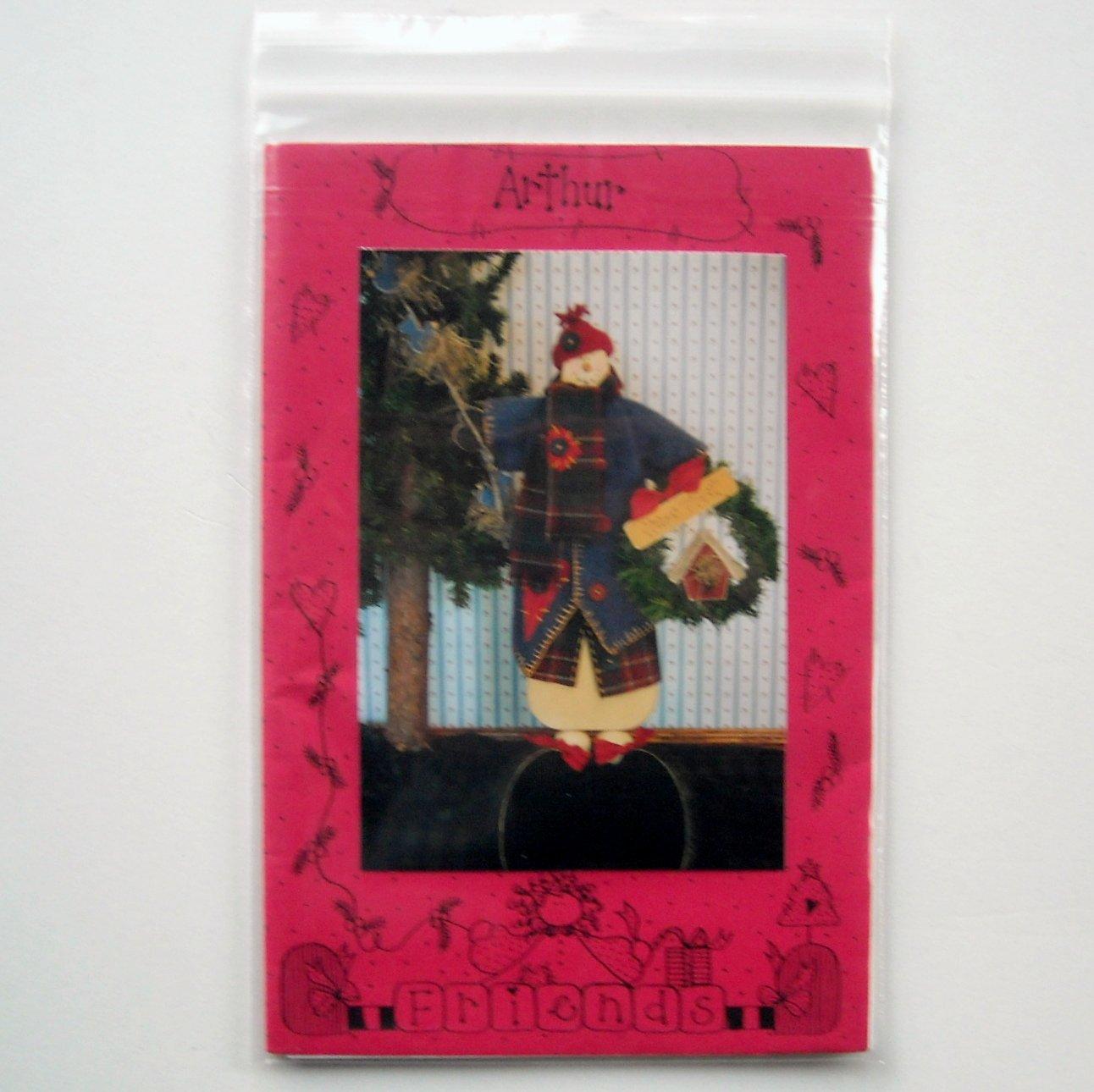 Arthur Doll Crafts Pattern # 769