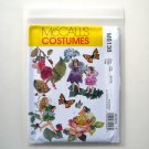 McCalls Childrens and Girls Fairy Costumes Size CL 6 - 8 Sewing Pattern M6138