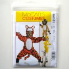 McCalls Infants Toddlers Animal Costumes Size CAA 1/2 - 4 Sewing Pattern M6181