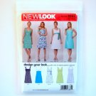 Misses Dresses Six Sizes In One A 8 - 18 Simplicity New Look Sewing Pattern 6885