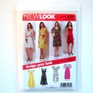 Misses Dresses Six Sizes In One A 8 - 18 Simplicity New Look Sewing Pattern 6750