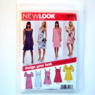 New Look Misses Dresses Six Sizes In One A 6 - 16 Simplicity Sewing Pattern 6800