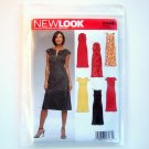 New Look Misses Dresses Six Sizes In One A 6 - 16 Simplicity Sewing Pattern 6348