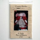 Doll Crafts pattern #121 Country Stitches 1988 Little Piece Of Heaven
