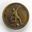 Vintage Soccer Solid Indiana Metal Craft Belt Buckle