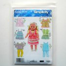 Simplicity Elaine Heigl Designs 18 inch Doll Clothes Craft Sewing Pattern 0380