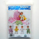 Simplicity Carla Reiss Designs Doll Clothes Craft Sewing Pattern 0383
