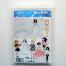 Simplicity Fairytale Wedding Dress Size A S M L Sewing Pattern 0382