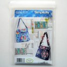 Simplicity Bags and Clutch Sweet Pea Totes Sewing Pattern 0386