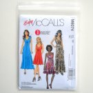 McCalls Easy Misses Dresses In Three Lengths Sewing Pattern Size FF 16 - 22 M6074