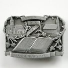 Year Of The Bible 1983 Bergamot Limited Edition # 5084 Pewter alloy belt buckle