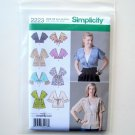 Simplicity Misses Jacket Sewing Pattern 2223