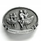 Square Dance Commemorative Arroyo Grande alloy belt buckle