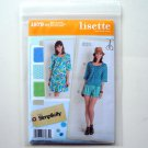 Lisette Misses Miss Petite Sportswear Dress Tops Shorts Simplicity Sewing Pattern 1879