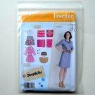 Lisette Misses Miss Petite Sportswear Dress In Three Lengths Simplicity Sewing Pattern 2246