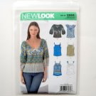 Misses Top Six Sizes In One Simplicity New Look Sewing Pattern 6964