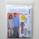 Misses Mens Teen Boys Tops Nightshirt Pants McCalls Sewing Pattern M5992
