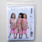 Childrens Girls Bolero Dress Jumpsuit Pants McCalls Sewing Pattern M6064