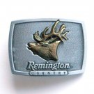 Remington Country Bugling Elk Pewter Alloy Belt Buckle