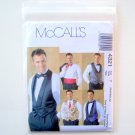 Mens Lined Vests Bow Tie Cummerbund Size Sml Med Lrg McCalls Sewing Pattern 4321