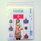Aprons Great Looks One Easy Pattern Size OSZ McCalls Sewing Pattern M5284