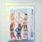 Misses Two Piece Bathing Suit Cover Up Size 12 - 18 McCalls Sewing Pattern M5400