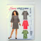 Misses Womens Dresses and Belt Size 8 - 16 McCalls Sewing Pattern M5736