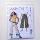 Misses Miss Petite Pants In 2 Lengths Size L - XL McCalls Sewing Pattern M5813