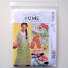 Kitchen Essentials McCalls Home Decorating Sewing Pattern M5903