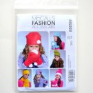 Childrens Girls Hats Scarves Size OSZ McCalls Sewing Pattern M5993