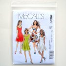 Misses Miss Petite Dresses Size 12 - 20 McCalls Sewing Pattern M6027