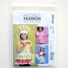 Kids Aprons Hats Headband Mitt Fashion Accessories McCalls Sewing Pattern M6049