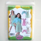 Girls Dress Jacket Lizzie McGuire Disney Size 4 - 12 Simplicity Sewing Pattern 2266