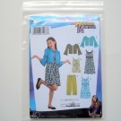 Girls Plus Dresses Hannah Montana Disney Size 8 - 16 Simplicity Sewing Pattern 3515