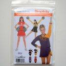 Misses Teens Cheerleader Outfit Costumes Size 4 - 10 Simplicity Sewing Pattern 3689
