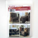 Home Decorating Traditional Slipcovers Pillows Simplicity Sewing Pattern 5383