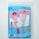 Toddlers Girls Dresses Project Runway Size AA 05 - 3 Simplicity Sewing Pattern 1890