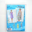 Misses Dresses Sleeve Back Variations Project Runway Size P5 12 - 20 Simplicity Sewing Pattern 2248