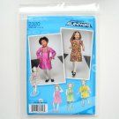 Toddlers Childs Dresses Project Runway Size BB 4 - 8 Simplicity Sewing Pattern 2320