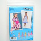 Toddlers Girls Childs Dress Project Runway Size AA 05 - 3 Simplicity Sewing Pattern 2989