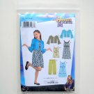 Girl Plus Jacket Pants Dress Disney Hannah Montana Size AA 8 - 16 Simplicity Sewing Pattern 3515