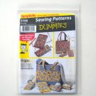 Accessories Tote Bags Wallets Checkbook Cover Simplicity Sewing Pattern Dummies 5598