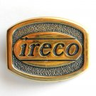 Ireco Solid Brass BTS 1981 used belt buckle