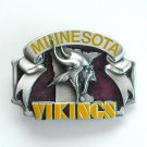 Minnesota Vikings 3D Vintage NFL Siskiyou Pewter belt buckle