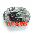 Chicago Bears 3D Vintage NFL Siskiyou Pewter belt buckle