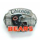 Chicago Bears 3D Vintage NFL Siskiyou Pewter Belt Buckle