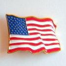American USA Stars and Stripes Flag belt buckle