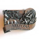 Arizona The Great Escape Bergamot pewter belt buckle